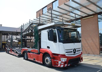 ROLFO EGO R2 427 + MB ACTROS 1843 2014